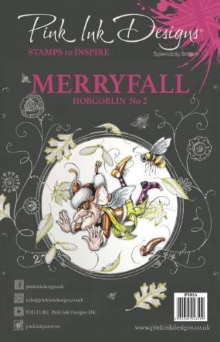 Pink Ink A5 Merryfall Hobgoblin 2 Clear Stamp Set